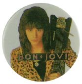 Bon Jovi - 'Richie' Button Badge